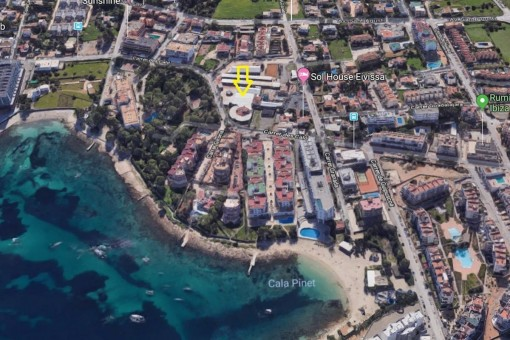 Commercial property in Cala de Bou - Sant Josep