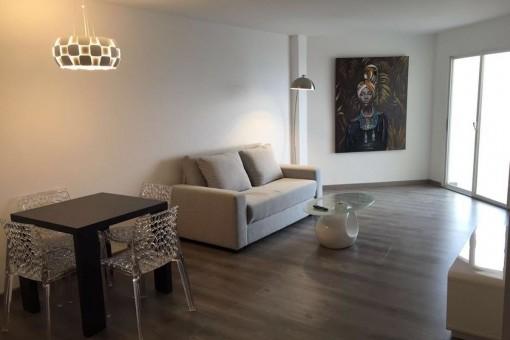 Modern living area