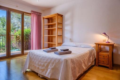 Master bedroom of the finca