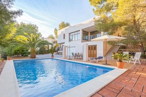 Lovely finca with pool and holiday rental license near Cala Salada, San Antonio de Portmany